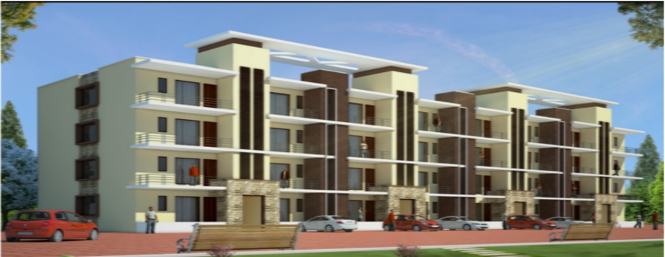 Luxurious apartments residential property for sale in for Kitchen 95 ludhiana